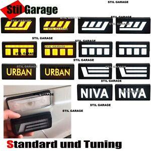 Lada Niva turn signals LED