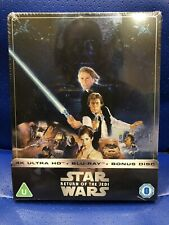SOLD OUT STAR WARS THE RETURN OF THE JEDI 4K ULTRA HD STEELBOOK BLU-RAY SEALED