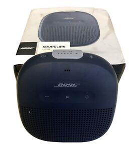 BOSE SOUNDLINK MICRO BLUETOOTH SPEAKER - WIRELESS PORTABLE SOUND - MIDNIGHT BLUE