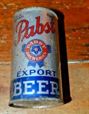 Pabst Export Irtp Open Instructional Flat Top Beer Can