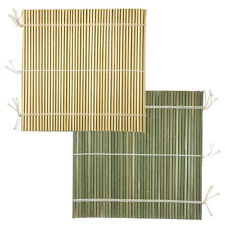Bamboo Sushi Rolling Mat 24 cm SQ Professional style Larger Stick/Made Japan