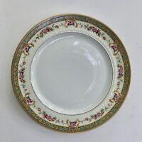 Set of 4 Haviland Limoges France Porcelain Salad Plates, Corsica Pattern