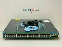 Cisco WS-C2960S-48FPS-L • 48 Port PoE+ Gigabit Network Switch ■SAMEDAYSHIPPING■