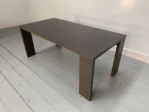 "RRP £3700 - Sublime B&B Italia ""Alceo"" Maxalto Dining Table Desk in Grey Oak"