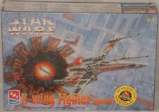 STAR WARS : X-WING FIGHTER SNAPFAST MODEL KIT MADE BY AMT/ERTL IN 1998