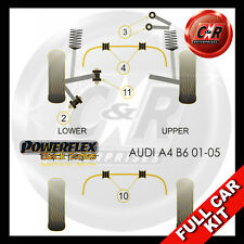 Audi A4 inc Avant 2WD (01-05) Powerflex Black Complete Bush Kit
