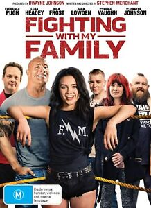 Fighting With My Family (DVD, 2019), NEW SEALED AUSTRALIAN RELEASE REG 4 lot 56
