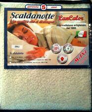 SCALDASONNO-SCALDANOTTE MATRIMONIALE MAX 190X160 100% pura lana vergine merinos
