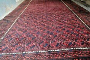 COLLECTORS' PIECE Antique Above 100 Years Old Master Piece Tribal Sistan Carpet