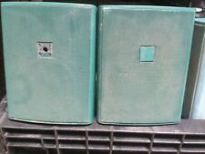 Pair Green JBL Professional  Control 25 Speaker Indoor Outdoor Free Shipping