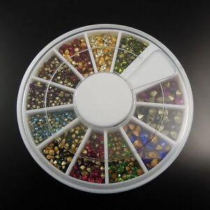 500 pcs Tiny Rhinestones For Crafting Jewelry Making DIY Nail Art Decors 1- 3mm