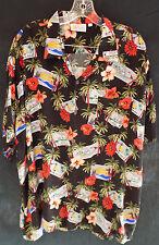 Southern California Edison SCE Hawaiian Shirt XL Aloha Employee Retired
