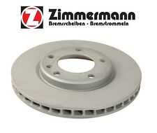BMW E30 M3 1988-1991 Front Left or Right Disc Brake Rotor Zimmermann 150 1273 20