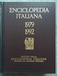 TRECCANI Enciclopedia Italiana 1979-1992. Appendice V - 5 TOMI