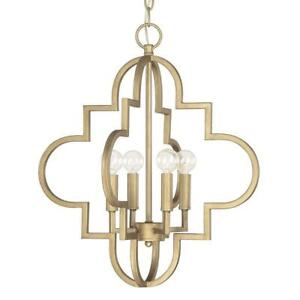 Capital Lighting - 4541BG Ellis Pendant Brushed Gold