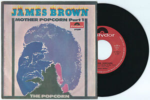 """7"""" JAMES BROWN Mother popcorn/The popcorn (Polydor 69 ITALY) funk soul r&b NM"""