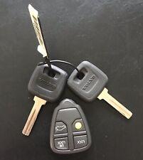 2 clés et télécommande d'origine (reprogrammable) VOLVO - 2 keys and remote