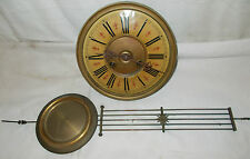 FMS Antique VINTAGE Vienna Wall CLOCK Movement + Pendulum