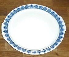 1  Kuchenplatte  Platte  20  cm    Eschenbach  VENEDIG   Perlrand  Blaue Muster
