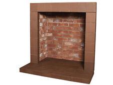 Rustic Brick Camber - Small Hearth
