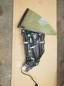 2007 VW EOS REAR PASSENGER SIDE WINDOW REGULATOR MOTOR & GLAS 1Q0839401B