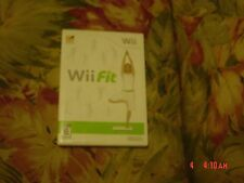 """Wii Fit (Nintendo Wii, 2008) Rated """"E"""", Game, instructions, keep case, NO base"""