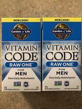 Garden Of Life Vitamin Code Raw One For Men Multivitamin 150 Caps Exp 06/2022