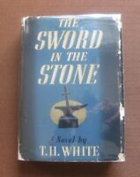 THE SWORD IN THE STONE by T.H. White - 1st edition HCDJ 1939 - Walt Disney movie
