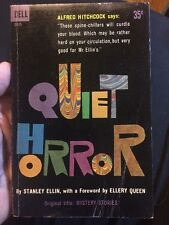 Quiet Horror By Stanley Ellin First Dell Edition Collectible Paperback