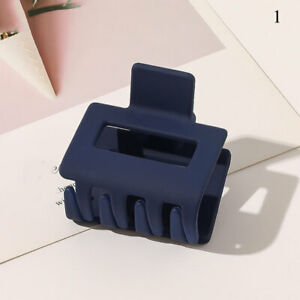 Women Large Hair Clip Acrylic Plastic Hair Claw Crab Clamp Accessory Candy Color