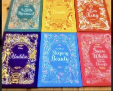 Disney Animated Classic Hardcover Book Set Of 6