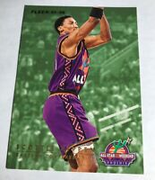 1995-96 Fleer All-Star Weekend Phoenix Scottie Pippen Shawn Kemp Hard_8s_Magic