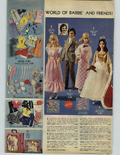 1974 PAPER AD Barbie Sweet 16 Quick Curl Miss America Ken Mod Hair Ideal Daring