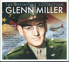 Glenn Miller - The Definitive Collection - 75 Original Hits (3CD) NEW/SEALED