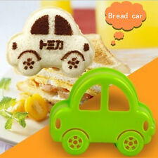 Green Car DIY Sandwich Cutter Shaper Cake Bread Toast Funny Mold Mould Maker