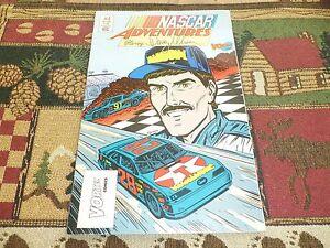NASCAR Adventures #4 Davey Allison (Jan 1992, Vortex Comics)