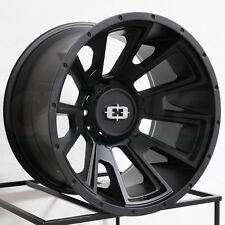 20x10 Vision 391 Rebel 6x5.5/6x139.7 -25 Satin Black Wheels Rims Set(4)
