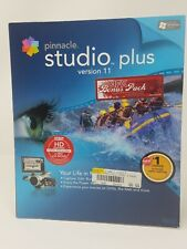 Pinnacle Studio Plus Version 11 with Book  and Bonus DVD NTSC version
