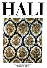 Hali Magazine: # 88 Sep 1996: Textiles Bargello Ardabil Puzzle Mughal Prayer Rug