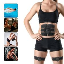 Fitness Smart ABS Muscle Arm Waist EMS Training Gear Body Exerciser Simulation