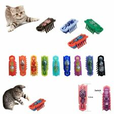Color Random Cartoon Electronic Pet Toys Nano Bug Robotic Insect Cat Playing