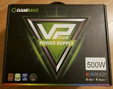 GAMEMAX Power Supply 500W rgb
