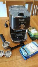 MACCHINA per il caffè espresso DELONGHI MODELLO EC1341.BK NERO CONDIZIONI ECCELLENTI