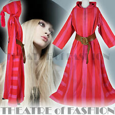 VINTAGE 70s DRESS COAT INDIAN 60s WEDDING KIMONO MEXICAN S M L XXL BOHO HIPPY