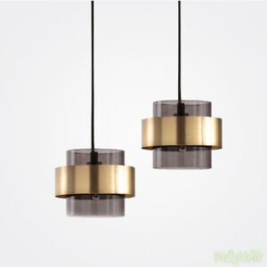 New Modern Gold Single Chandelier LED Small Pendant lamp Ceiling light