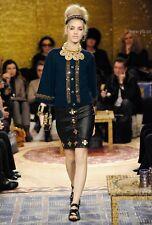 CHANEL Byzantine 100% Cashmere Knit Cardigan Jacket