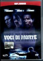 VOCI DI MORTE DVD USATO OTTIME CONDIZIONI