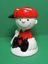 Peanuts Snoopy Charlie Brown vintage Hallmark Candle ceramic figure Bougie