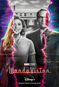 "WandaVision Wall Art TV Poster 18x12 30x20 36x24"""
