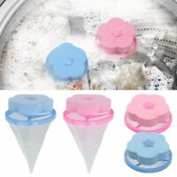 4 Fur Catcher Hair Remover Floating Laundry Lint Mesh Filter for Washing Machine